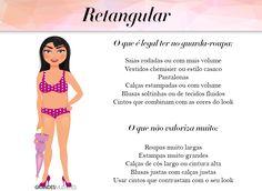 tipos de corpo - retangular - grandes mulheres