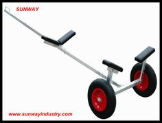 Smart anti ultraviolet radiation boat trailer, trailer trolley