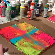 Art adventurer and play enabler on a colorful journey as a mixed media artist.