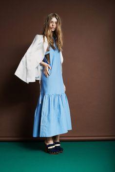 blue dress #fashion #pixiemarket