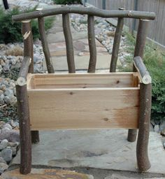 Embroidery Garden: 100% Recycled Planter Bench
