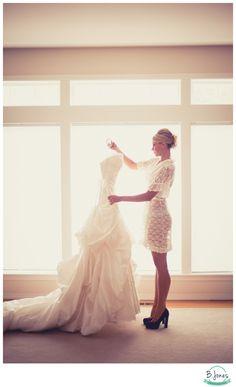 Pre-wedding, getting ready pose, bridal boudoir   B. Jones Photography Www.bjonesphotos.com Seattle wedding photgrapher