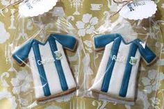 Resultado de imagen para galletas de camisetas de futbol