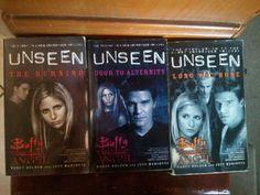 Buffy the Vampire Slayer books  Good series!