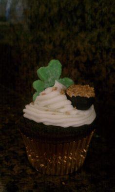 St. Patricks Day Cupcake