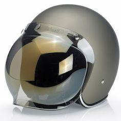 Biltwell bubble visor.... oh Cora Commander helmet....