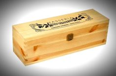 box made of solid fir