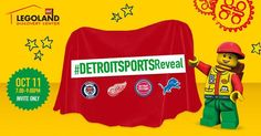 Hey fishy fans! Our friends at LEGOLAND Discovery Center Michigan are celebrating all four Detroit sports teams moving downtown by revealing a special 6 ft tall #DetroitSports LEGO® build on Wednesday, Oct 11th!   You can enter to win 4 tickets to this private event by visiting the LEGOLAND Discovery Center Michigan Facebook page and tagging a friend in the comments section of their post before 11:59pm on Friday! #PetOxy.Com