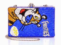 tony tiger clutch – Toronto Is Fashion Unique Handbags, Unique Purses, Cute Purses, Purses And Handbags, Clutch Handbags, Blue Handbags, Unique Bags, Backpack Purse, Purse Wallet