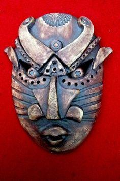 Steampunk Warrior Ceramic Mask-sold