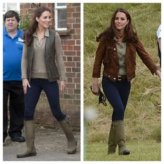 I love the way she wear an outfit in different ways even her hairstyle!