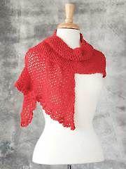 Crochet Scarf Patterns - Asymmetrical Scarf