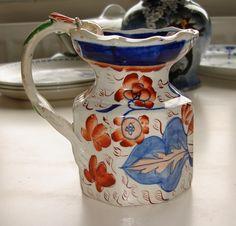 Masons Ironstone pottery jug