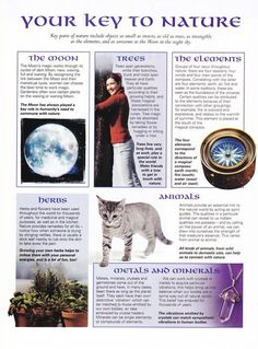 Book of Shadows: #BOS Your Key to Nature page. / Wicca/Pagan/Spritual on imgfave