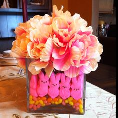 My version of an Easter Centerpiece... :) Made from scratch by yours truly