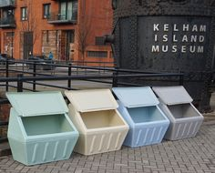 Wybone designs and manufactures street furniture including litter bins, recycling bins, grit bins and clinical waste bins. Street Furniture, Recycling Bins, Salt, The Unit, Plastic, Canning, Retro, Glass, Design
