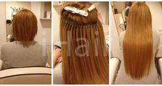 60 cm-es hajhosszabbítás keratinos hőillesztéses technikával 8.44-es méz szőke színű hajfesték alkalmazásával Long Hair Styles, Beauty, Long Hairstyle, Long Haircuts, Long Hair Cuts, Beauty Illustration, Long Hairstyles