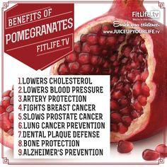 Benefits of Pomegranates AND it's already in Shakeology! www.shakeology.com/PForceFitness