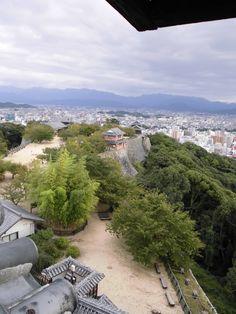 松山城 天守閣からの眺望 2014.10.14