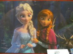 THIS PICTURE MAKES ME SO HAPPY. a) The background and lighting are both gorgeous. b) Anna without the streak in her hair. I mean, I love the streak, but it means she's been cured of the frozen heart thing. c) HAPPY ELSA. Every screenshot we've gotten of Elsa is cocky Elsa, sad Elsa, or scared Elsa. d) Anna and Elsa being all sisterly and stuff. D'aww.