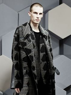 Damir Doma Men's Jelesto bomber and Chanos coat in the LN-CC AW12 002 Feature (UK).