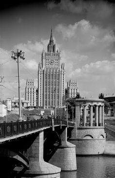 Дом на Смоленской площади - The Smolenskaya square House (Moscow)