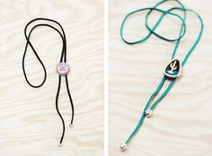 DIY Bolo Tie from Repurposed Materials | The Merrythought