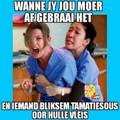 Afrikaanse Quotes, Greys Anatomy, Positive Thoughts, Love Life, Jokes, Positivity, Snl, Funny Humor, South Africa