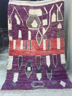 Vintage Moroccan boujaad rug 250 x 155 cm