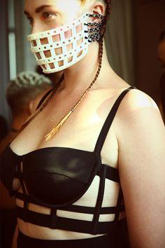 Bra torture Category:Breast torture