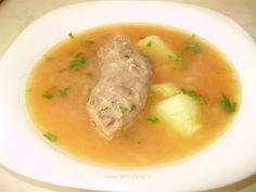 Ciorbă din gâturi de curcan Romanian Recipes, Romanian Food, Supe, Ethnic Recipes