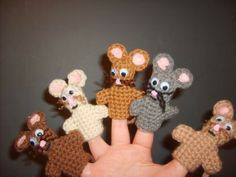 Mice Finger Puppets from What is Bridget Reading.