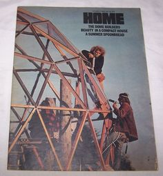 Home Magazine Los Angeles Times 1973 Geodesic Domes newspaper
