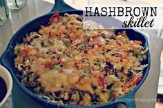Hashbrown Skillet Casserole {OH.MY.GOODNESS}