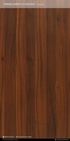 Foyer laminate in Hermes marcello walnut.