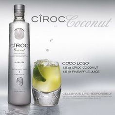 Coco Loso. Just saw this in a movie, kind of hood drink but...