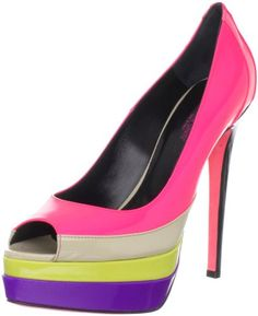 Shoes: Ruthie Davis Womens Popsicle Peep-Toe Pump - Buy New: $184.12 - $898.00