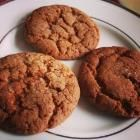 Quick Ginger Biscuits recipe – All recipes Australia NZ Biscuit Recipes Uk, Custard Biscuits, Golden Syrup, Tray Bakes, Cake Cookies, Allrecipes, Rolls, Vegetarian, Dishes