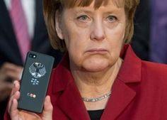 Scandalo #datagate : anche il cellulare della #Merkel potrebbe essere stato controllato!