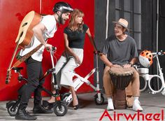 Every party with friends, with the novelty of the Airwheel, always so memorable.