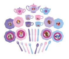 Amazon.com: Sofia the First Dinnerware Set, 26-Piece: Toys & Games