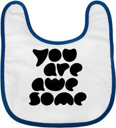 Bahcevski - You Are Awesome - Kendin Tasarla - Bebek Önlüğü