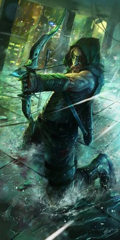 #GreenArrow #Arrow #OliverQueen