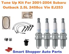 Tune Up Kit Filters Spark Plugs Wire For GMC YUKON V8; 5.3L 2003-2004