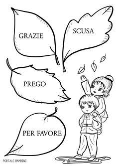 Una scheda stampabile per prepararci alla Giornata Mondiale della Gentilezza. Italian Language, Kids Learning, Coloring Pages, Preschool, Classroom, Activities, Education, Feelings, Creative