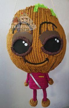 Piñata #BabyGroot en #VivaPiñataFactory si estamos trabajando con todo. Cualquier información o pedido por Inbox.️