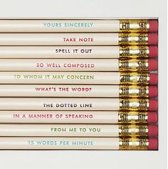 Love these kate spade pencils! http://rstyle.me/n/cw87dnyg6