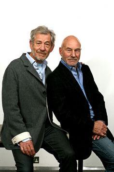 Magneto, Ian McKellen will officiate Professor X,Patrick Stewart's wedding.