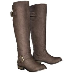 Women's Mossimo Supply Co. Kayce Tall Boots with Back Studs - Brown