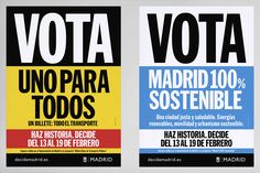 VOTA / Ayuntamiento de Madrid on Behance